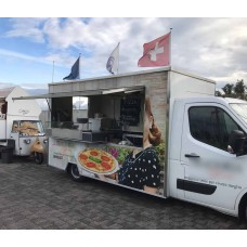 Holzofen-Pizza  Catering